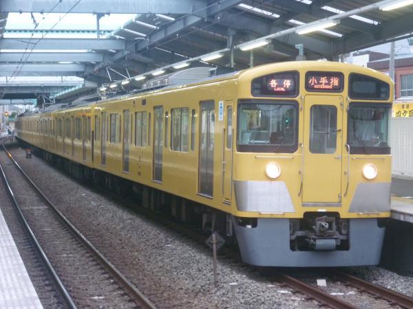 2014-09-27 西武2073F 各停小手指行き 5219レ