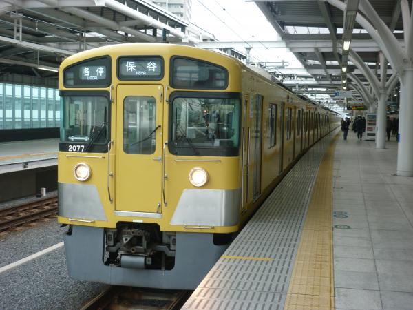 2014-12-20 西武2077F 各停保谷行き 5709レ