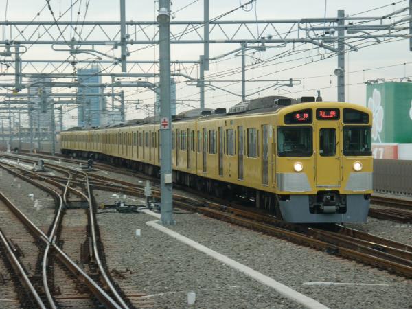 2014-12-20 西武2087F 各停池袋行き 5714レ