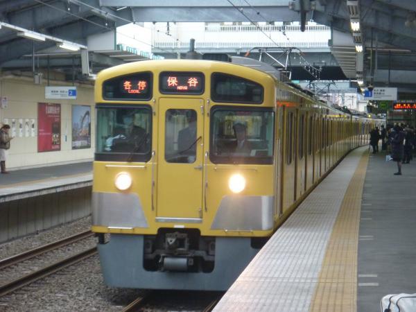 2014-12-20 西武2087F 各停保谷行き1 5707レ