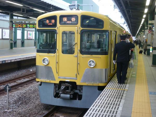 2014-12-20 西武2087F 各停保谷行き2 5707レ