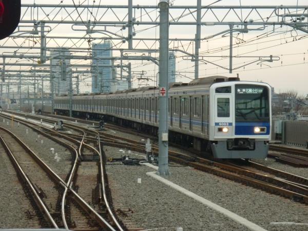 2014-12-20 西武6103F 各停武蔵小杉行き 6808レ