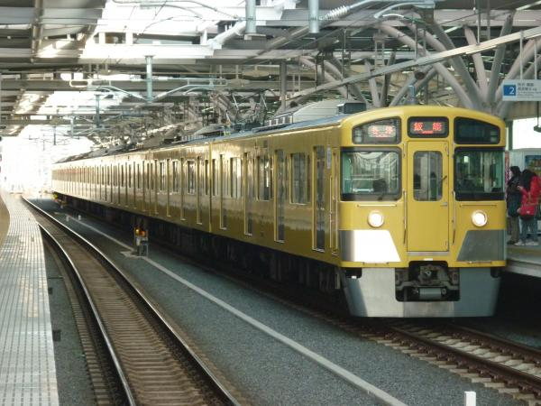 2014-03-09 西武2073F 各停飯能行き2