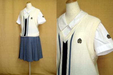 京都成安高等学校の中古制服