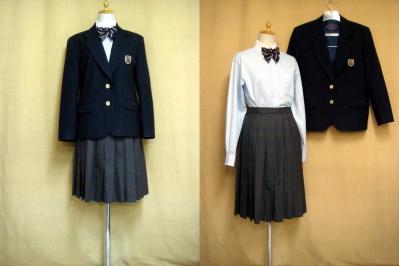 西成高等学校の中古制服