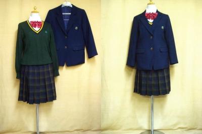 精華高等学校の中古制服