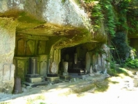 紅葉2014松島円通院8洞窟群