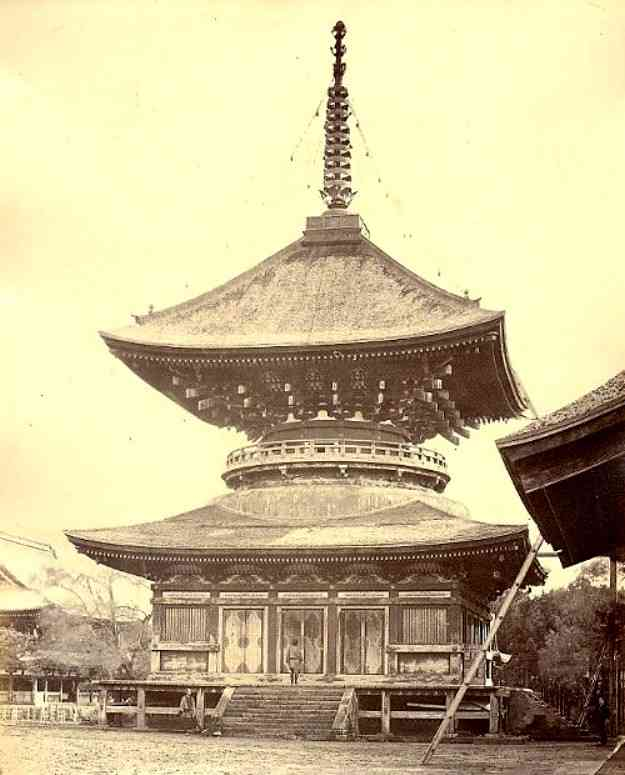 鶴岡八幡大塔写真