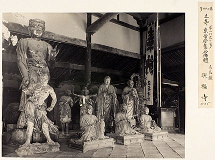 興福寺集合仏体