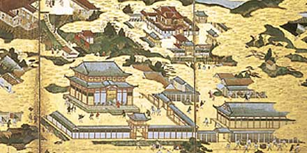 伏木勝興寺所蔵の洛中洛外図に描かれた方広寺