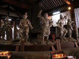 新薬師寺内部仏像