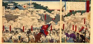西南戦争熊本城