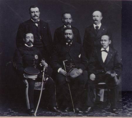 カラカウア王の日本滞在