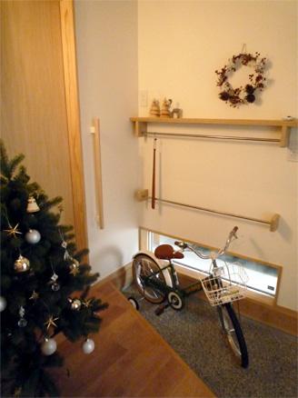 クリスマスの玄関