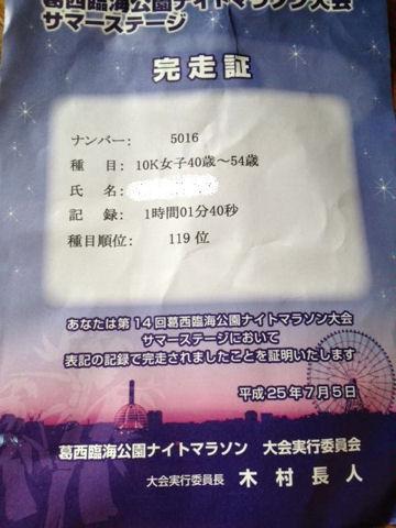 臨海公園ナイトラン4
