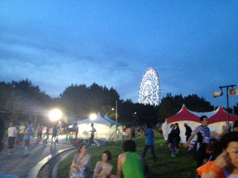 臨海公園ナイトラン3