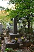 泉鏡花墓所1