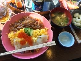 鳥取の海鮮問屋 村上水産でお昼を食べました。