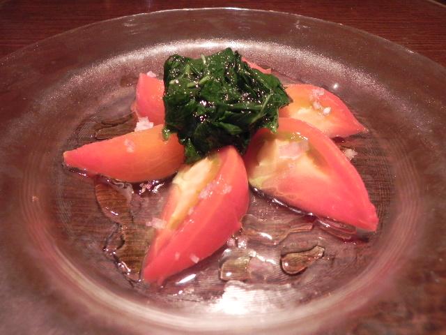 トマトのマリネ001