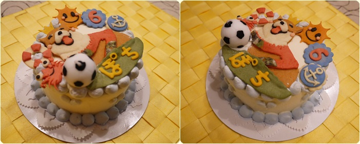 ぽちケーキ