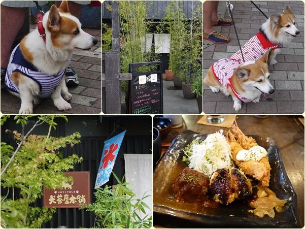 犬茶屋本舗にて