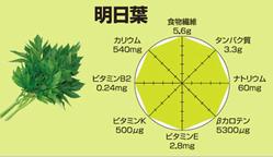 明日葉の栄養素