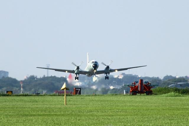 YS-11 離陸風景