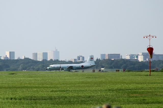 YS-11 滑走路 移動風景