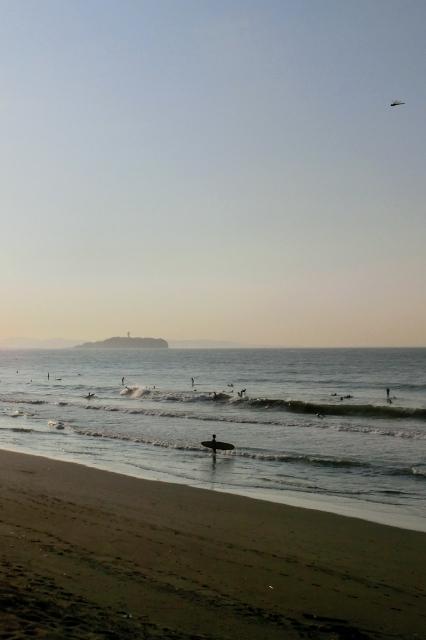 昨日の湘南海岸