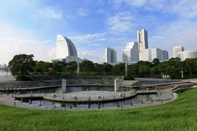 臨港パーク 潮入りの池
