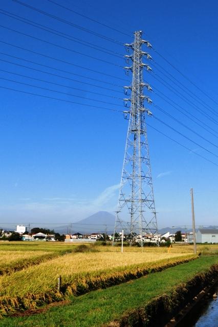 秋晴れの富士山