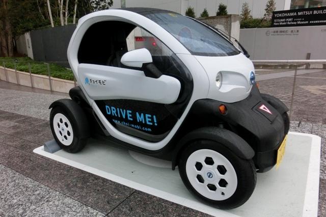 超小型電気自動車 チョイモビ