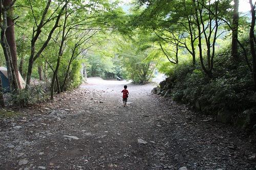 道志のキャンプ場②