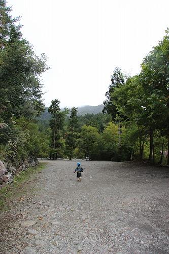 道志のキャンプ場