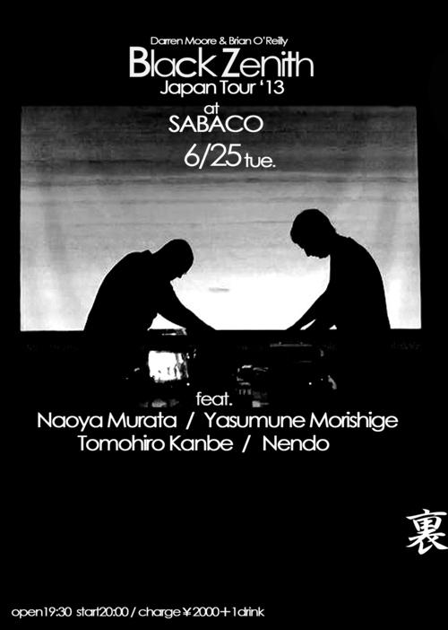black_zenith×naoya_murata_at_sabaco