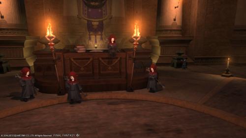 呪術士ギルド。ギルドマスターとその兄弟。