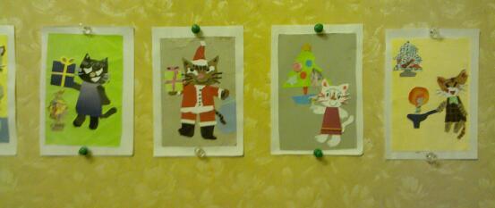 猫クリスマス3