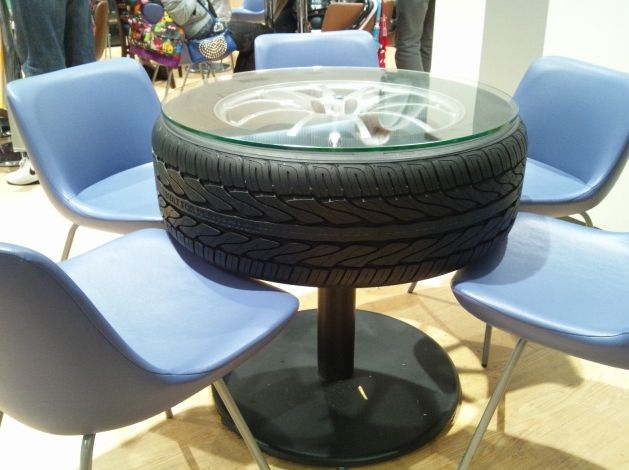 タイヤテーブル