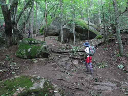瑞牆山登山口2