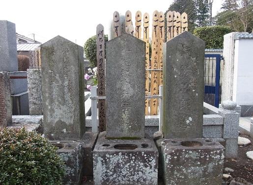 海保漁村の墓