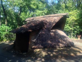 東京都埋蔵文化財センター 遺跡庭園「縄文の村」④