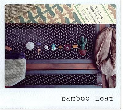 ブローチ展bamboo Leaf