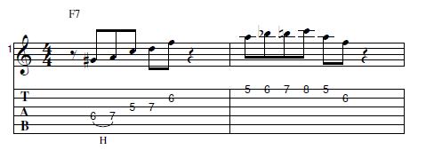 ギター フレーズ ブルース