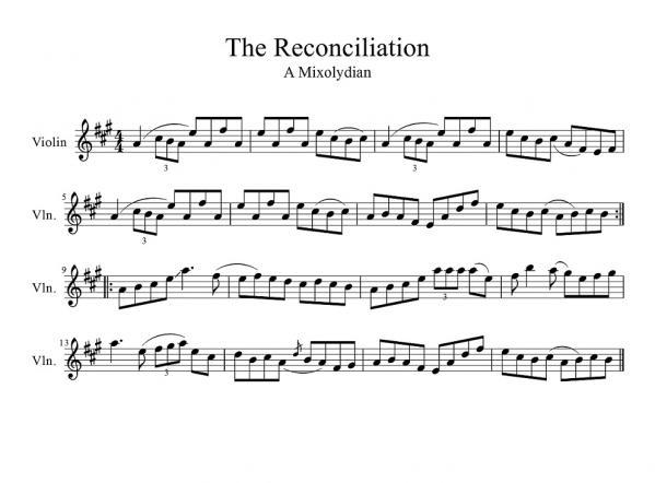 Reconciliation, The(arr-1
