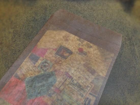 ロウ引き角2封筒
