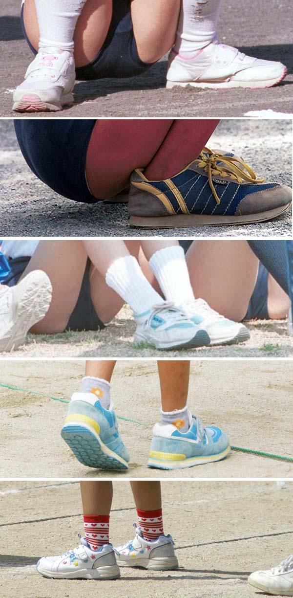 ブルマー体操服・運動靴 DF研01