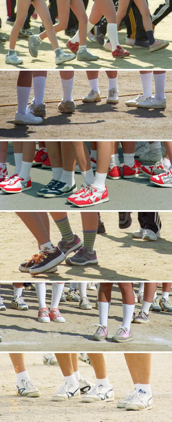 ブルマー体操服・運動靴 DF研03