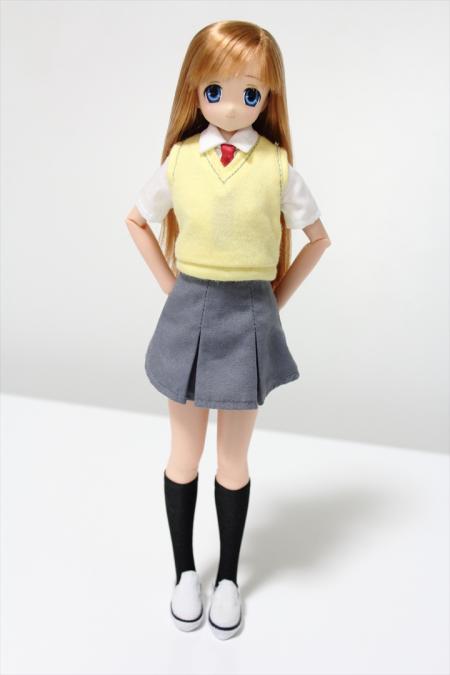 転校生ver.制服のサアラさん1