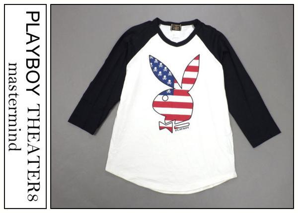 マスターマインド PLYBOY 星条旗 Tシャツ
