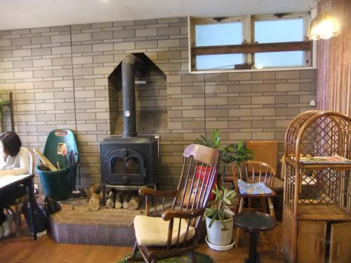 店内暖炉DSCF4076